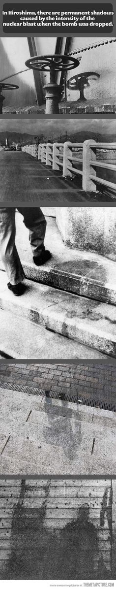 Hiroshima's shadows…