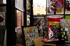 Oeuvres de Skunk Dog au New Hotel of Marseille