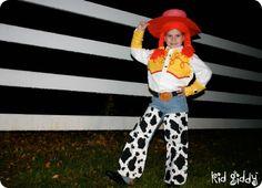 Jessie the Cowgirl - Costume Tutorial! #costume #halloween #tutorial #diy #craft #kidgiddy