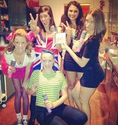 The Spice Girls Halloween group costume