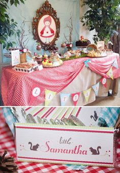 Woodsy Little Red Riding Hood Party