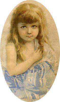 Heart Tugging Pretty Little Girl