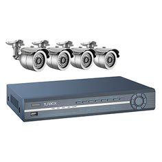 Turbo-X DVR Kit TXN-4104. Ιδανικό για νυχτερινή παρακολούθηση εσωτερικών και εξωτερικών χώρων.