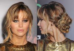 Jennifer Lawrence Red Carpet Hair
