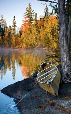 Brule Lake in the Boundary Waters Canoe Area Wilderness of Minnesota • photo: Dave Berryman on Flickr