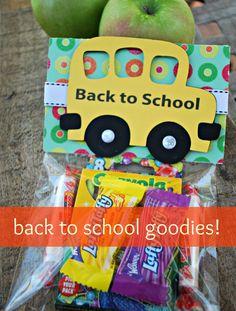 Back to School Goodie Bags