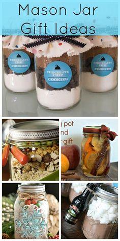 DIY:: Easy Budget Mason Jar Gift Ideas
