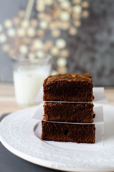 K.I.S.S. Brownies from @Liren Baker | Kitchen Confidante