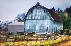 White Washed Barn