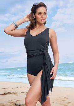 Converteble 3-way Swimsuit Plus Size Fashion @ Jessica London