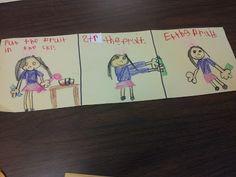 Chalk Talk: A Kindergarten Blog  Procedural Writing