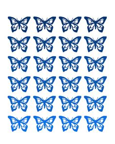 Butterfly free printable