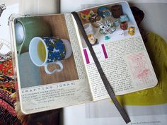 how to layout and organize your journal | this chicken