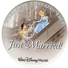 walt disney, cant wait, disney honeymoon, button, disney vacations, disney hotels, honeymoons, prince charming, marri