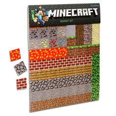 Minecraft Magnet Set £19.99