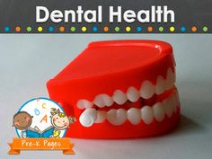 Ideas and activities for teaching about dental health in your preschool, pre-k, or kindergarten classroom. Literacy, math and more.