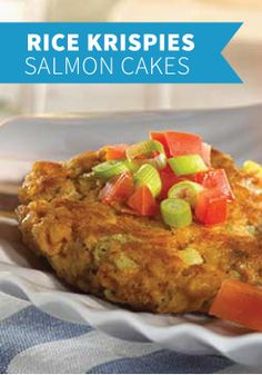 Salmon Cakes with Mustard Sauce -- A chilled Dijon dipping sauce ...