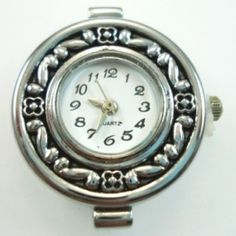 Beading Jewellery Watch Face - Silver - Spoil Me Silly Jewellery
