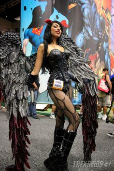 Comic-Con Costume Dark Angel
