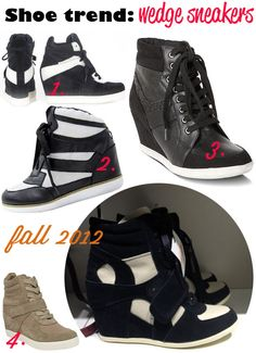 Fall trend 2012: wedge sneakers
