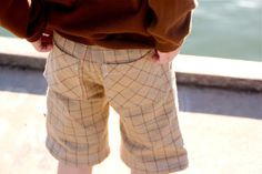TUTORIAL: KID Pants and Shorts with Back Pockets   MADE