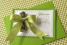 """you are 2 lucky"" st. patricks #printable card"