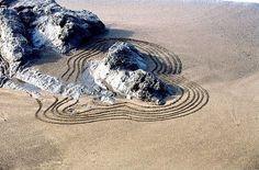 Sand beaches, sand, beach hous, backgrounds, courtyard gardens, architecture, zen gardens, landscape designs, courtyards
