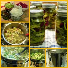 The Iowa Housewife: Home Canned Three Bean Salad