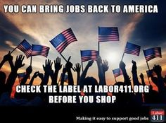 With over 6,000 listings on our new and improved online directory at www.labor411.org, finding American-made is easier than ever.