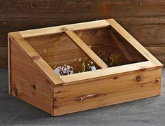 williams sonoma cedar cold frame