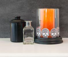 Sugar Skull Halloween Decor. Make It Now in Cricut Design Space
