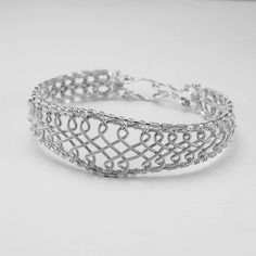 Celtic Cuff Coiled Silver Braided Bracelet -  Instant Download Wire Jewelry Tutorial Instruction PDF