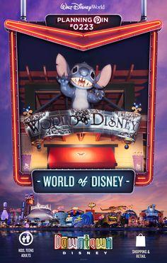 Walt Disney World Planning Pins: World of Disney