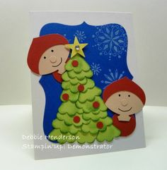 Stampin' Up!  Ornament Punch  Debbie Henderson  Christmas Elves