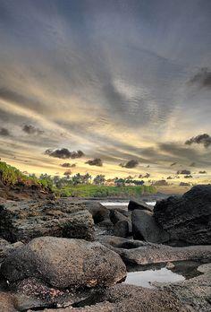Sunset at Tanah Lot, Bali - Indonesia
