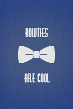 Bowies are cool