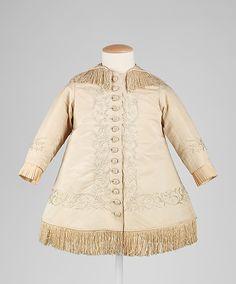 Young girl's coat, circa 1876