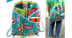 Tutorial: Crossover pocket backpack