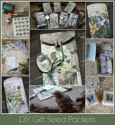 DIY Gift Seed Packets