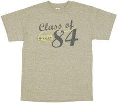 Nintendo Class 84 T Shirt $19.88