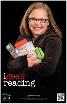 """i geek reading"""