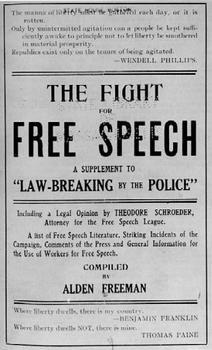 Freedom+of+Speech+Amendment | The 1st amendment means freedom of speech, period