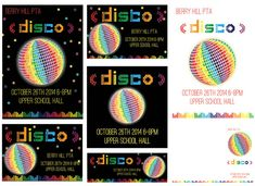Published PTA Template Kits - Disco www.publishedpta.co.uk