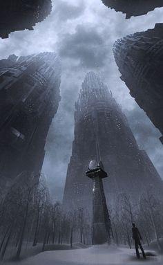 Dystopia, Atrium of Time by Alexander Preuss