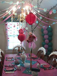 Cute Girls Birthday Party