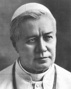 """Pope Pius X:  """"In 1904 Theodor Herzl requested Pope Pius X's support for Zionism and the return of the Jewish people to their homeland. In response, the Pope said: 'I cannot support you, as you have rejected Jesus. If you go to the Holy Land, I will gladly open our church doors so the priests can baptize you as Christians.'"""
