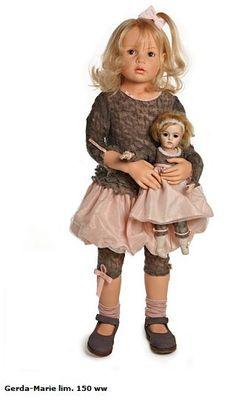 <3 Gerda-Marie Hildegard Gunzel 2013 Resin Doll