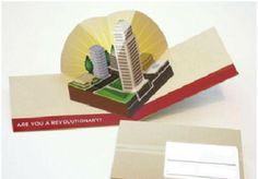 Boring rectangle business cards are history. Pop-up business cards can add that extra edge to your card