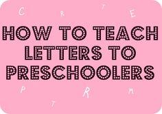 Preschool Activity Ideas | Toddler Activity Ideas