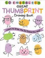 Ed Emberley~ BEST fingerprint art guide ever~ use it all of the time!